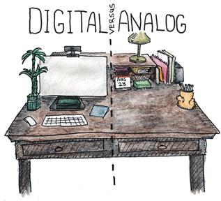Creating Art: Analog vsDigital