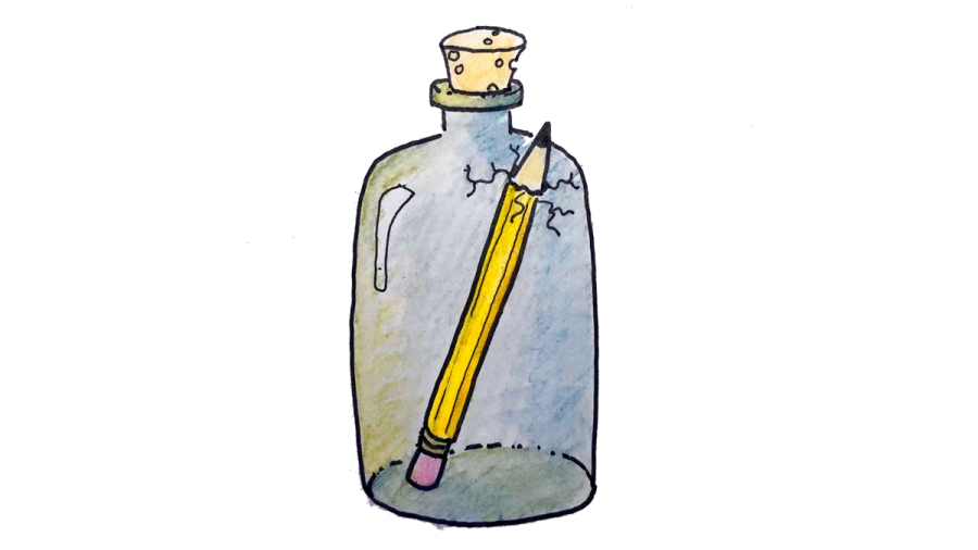 Do You Bottle Up Your Writing?